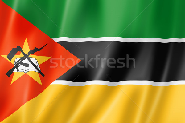Mozambique flag Stock photo © daboost