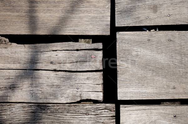 áspero madera bordo edad textura pared Foto stock © daboost