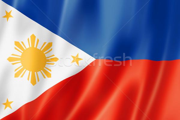 Philippines pavillon satin texture Photo stock © daboost