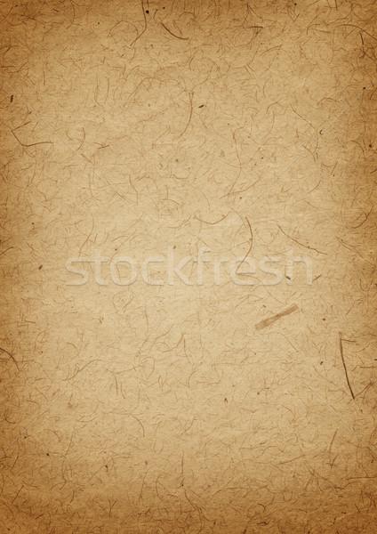 Oud perkament Papierstructuur oude grunge perkament papier Stockfoto © daboost