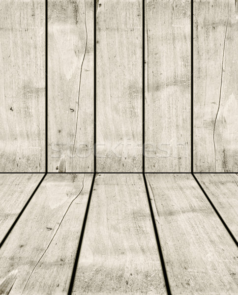 Old white wood crate background Stock photo © daboost