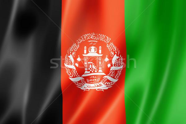 Afghan flag Stock photo © daboost