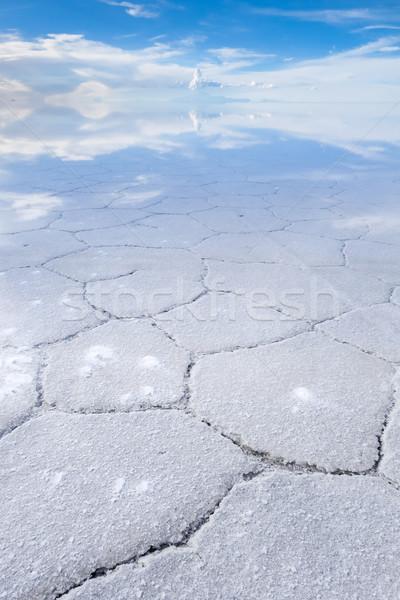 Stock fotó: Sivatag · só · fehér · tájkép · világ · háttér