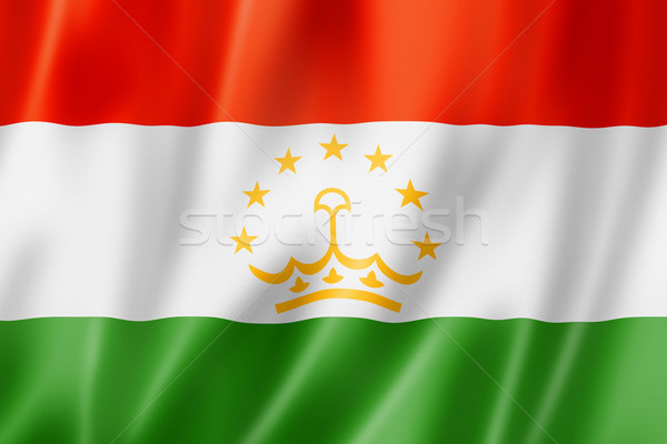 Tajikistan flag Stock photo © daboost