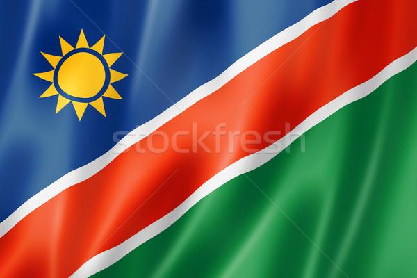 Namibian flag Stock photo © daboost
