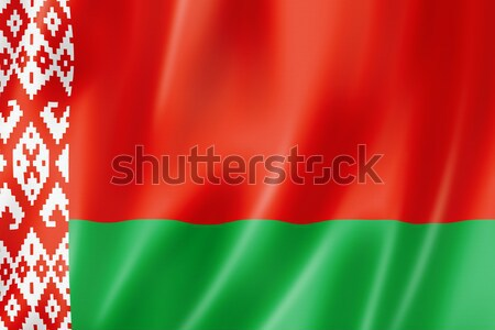Belarus flag Stock photo © daboost
