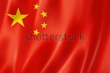 Chinese flag Stock photo © daboost