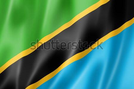 Tanzanie pavillon satin texture Photo stock © daboost