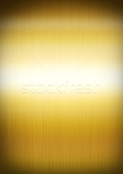 Gold brushed metal background texture Stock photo © daboost