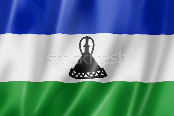 Lesotho pavillon satin texture Photo stock © daboost