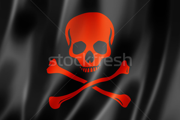 Pirate flag, Jolly Roger Stock photo © daboost
