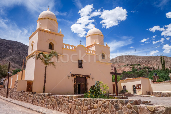Kerk Argentinië stad oude noorden Stockfoto © daboost