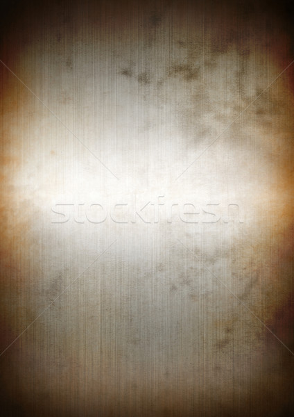 Silver rusty brushed metal background texture Stock photo © daboost