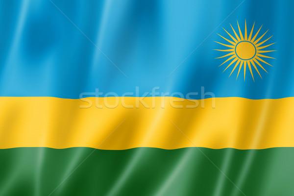 Rwanda pavillon satin texture Photo stock © daboost