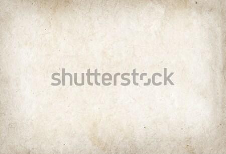Foto stock: Pergamino · textura · del · papel · papel · resumen · fondo · retro