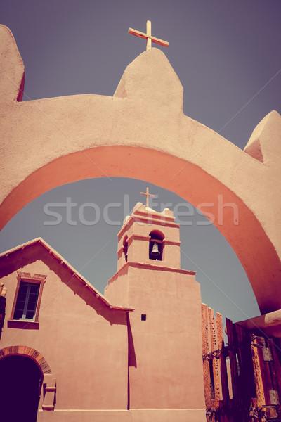 Church in San Pedro de Atacama, Chile Stock photo © daboost