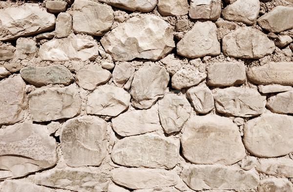 Vecchio muro di pietra grezzo wallpaper texture sfondo Foto d'archivio © daboost
