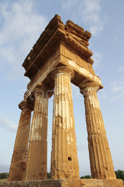 antique greek temple in Agrigento, Sicily Stock photo © daboost