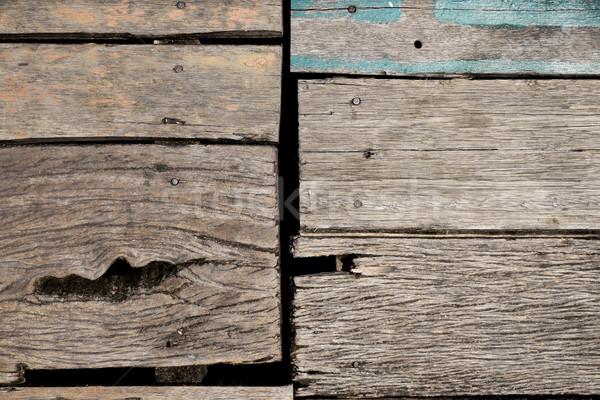 Durva fa tábla öreg textúra fal Stock fotó © daboost