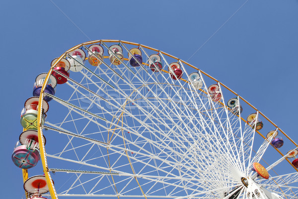 Stock photo: Ferris wheel in an amusement park
