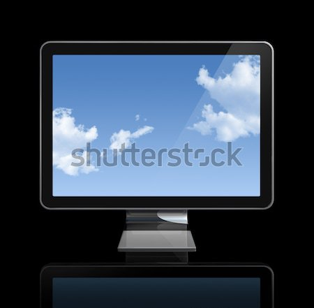 3D television screen Stock photo © daboost