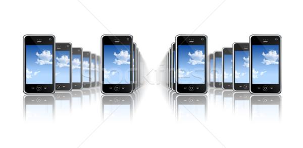 mobile phones Stock photo © daboost