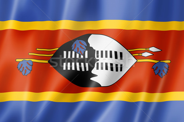 Swaziland flag Stock photo © daboost
