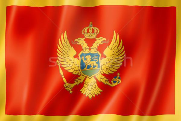 Montenegro flag Stock photo © daboost
