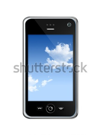 mobile phone Stock photo © daboost