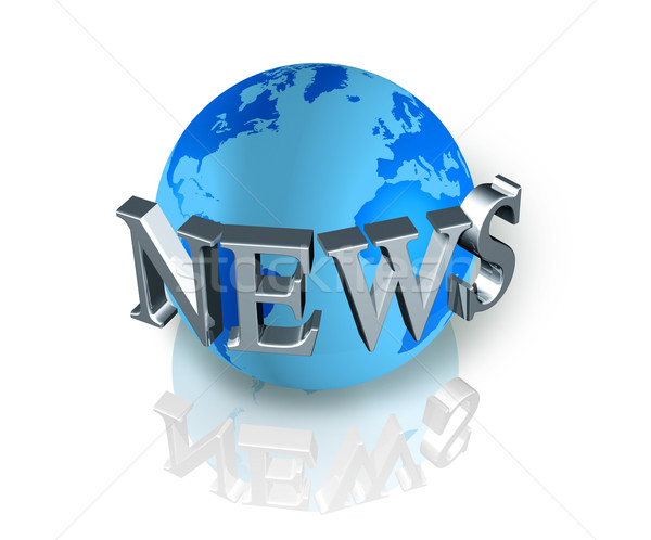 news world globe Stock photo © daboost