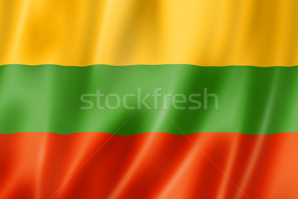 Lithuanian flag Stock photo © daboost