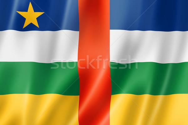 центральный африканских республика флаг Африка Сток-фото © daboost