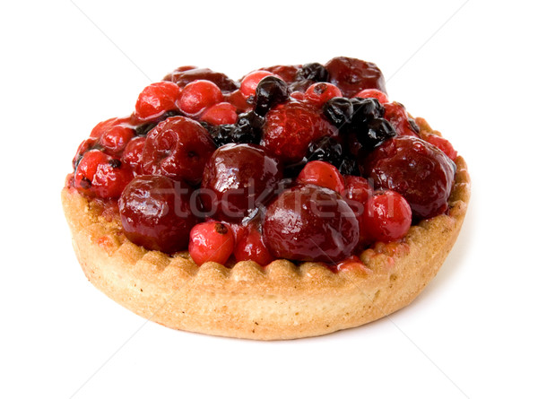 red fruits pie Stock photo © daboost