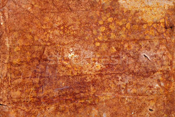 old rusty grunge metal wall Stock photo © daboost