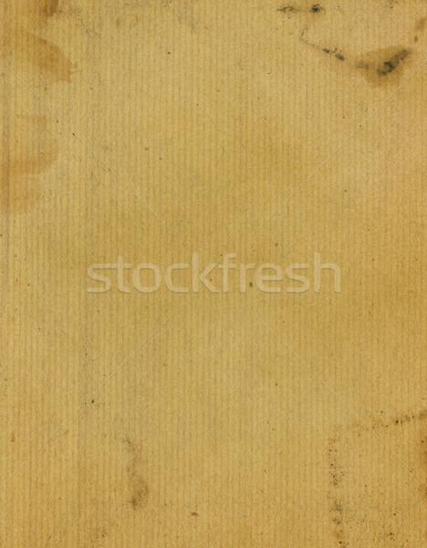 Grunge kraft brown paper texture Stock photo © daboost