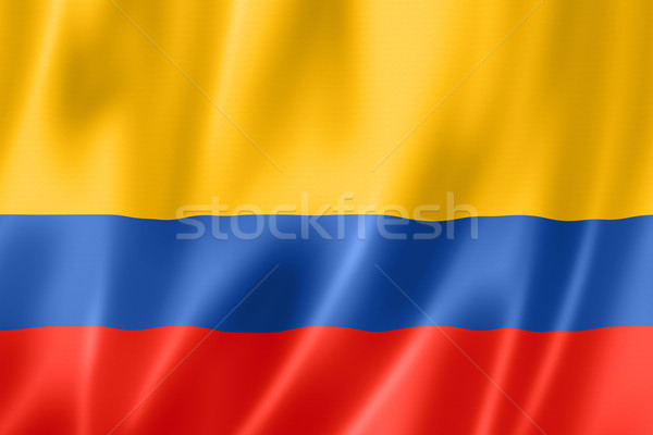 Colombian flag Stock photo © daboost
