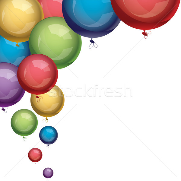 vector balloons Stock photo © Dahlia