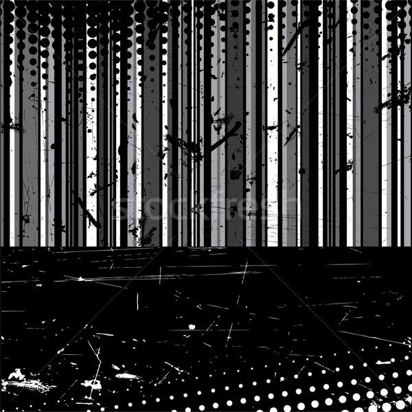 striped grunge background Stock photo © Dahlia