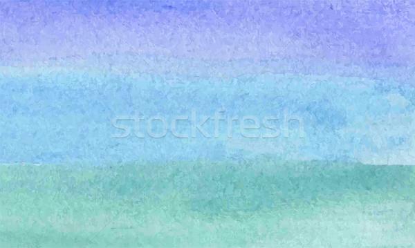 Abstrato aquarela água textura pintar fundo Foto stock © Dahlia