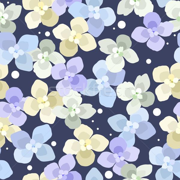 Vetor sem costura floral abstrato natureza fundo Foto stock © Dahlia