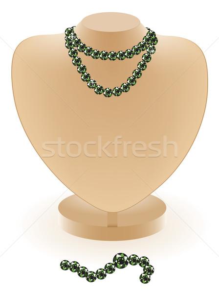 dummy with beads Stock photo © Dahlia