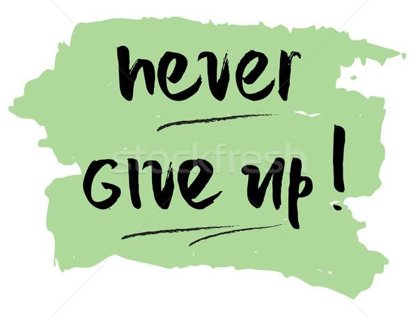 決して 与える アップ やる気を起こさせる 引用 ベクトル ストックフォト © Dahlia