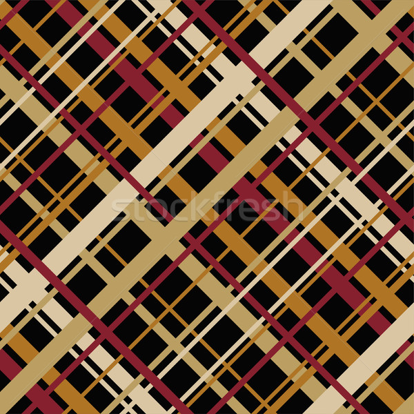 vector abstract seamless geometric pattern with diagonal endless Stock photo © Dahlia