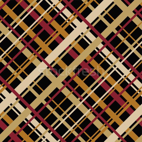 ベクトル 抽象的な シームレス 幾何学模様 対角線 エンドレス ストックフォト © Dahlia