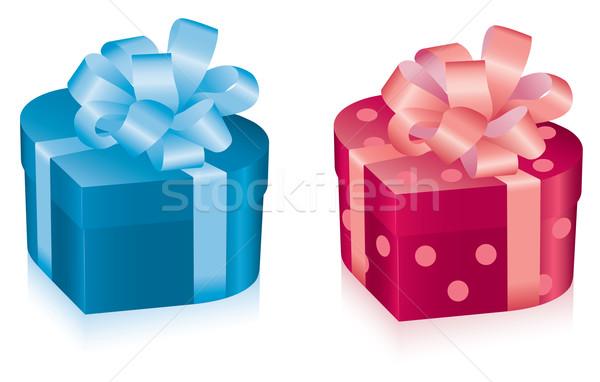 vector gift boxes  Stock photo © Dahlia