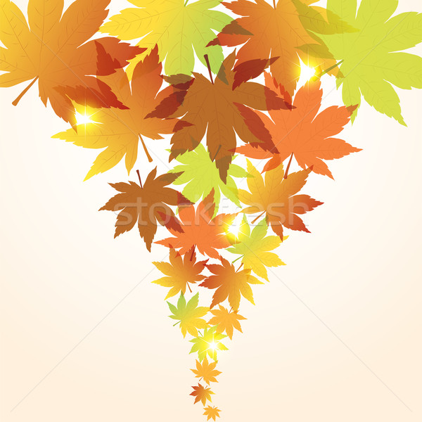 vector abstract fall background Stock photo © Dahlia