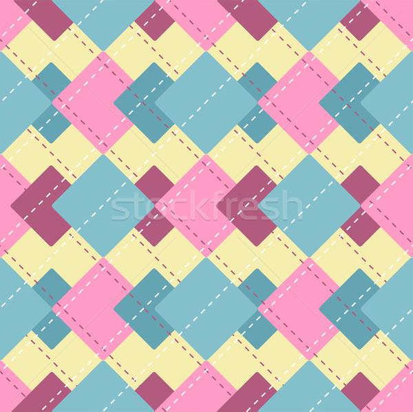 Vetor abstrato padrão textura projeto Foto stock © Dahlia