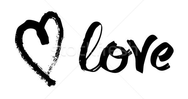バレンタインデー カード 愛 抽象的な 中心 ストックフォト © Dahlia