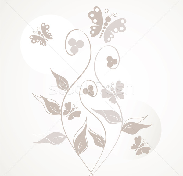 çiçek yaprak arka plan yaz duvar kağıdı Stok fotoğraf © Dahlia