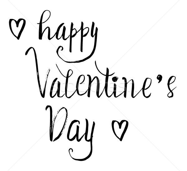 Feliz dia dos namorados flor amor férias Foto stock © Dahlia